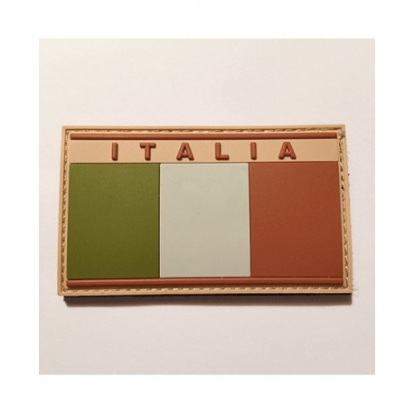 PVC Patch ITALIA Low Vis