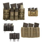 LBX Modular Assaulters Panel (MOLLE) Wolf Grey
