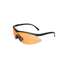 EDGE Eyewear FAST LINK Matte Black – Tiger's Eye Lens