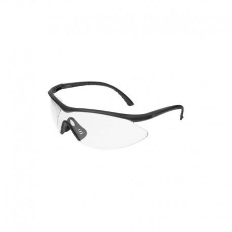 EDGE Eyewear FAST LINK Matte Black – Clear Lens