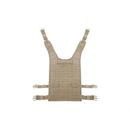 WARRIOR ASSAULT SYSTEM Back Panel Coyote Tan