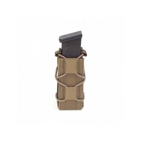 WARRIOR ASSAULT SYSTEM Single Quick 9mm Mag Pouch Coyote Tan