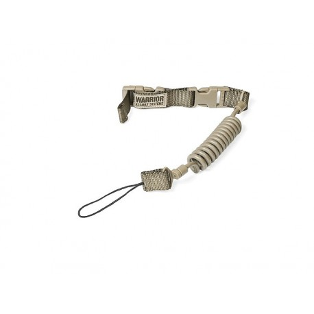 WARRIOR ASSAULT SYSTEM Tactical Pistol Lanyard Coyote Tan
