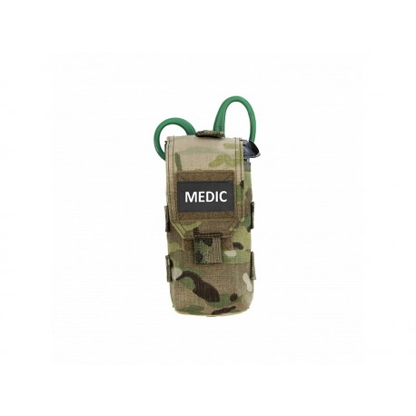 WARRIOR ASSAULT SYSTEM Individual First Aid Pouch Multicam