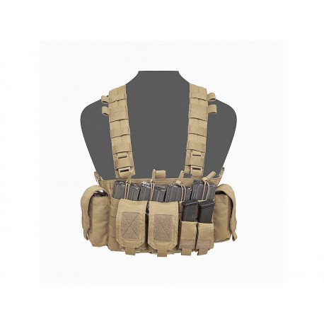 WARRIOR ASSAULT SYSTEM Falcon Chest Rig Coyote Tan