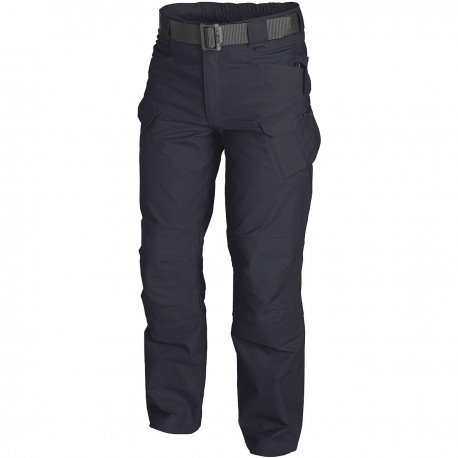 HELICON TEX URBAN TACTICAL PANTS TG M/L BLUE NAVY RIPSTOP