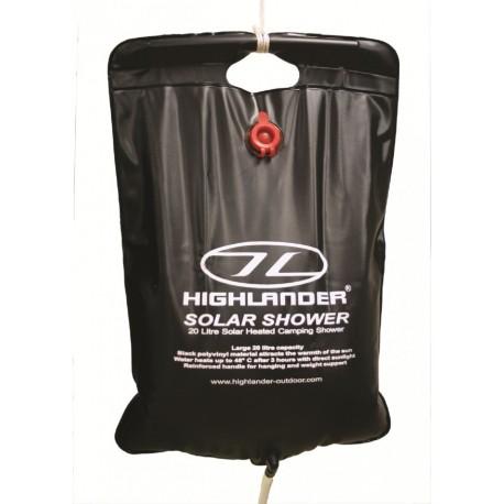 HIGHLANDER OUTDOORS SOLAR SHOWER 20 LITRES