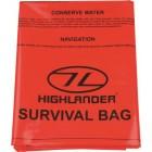 HIGHLANDER OUTDOOR EMERGENCY SURVIVAL BIVI BAG 90X180CM ORANGE