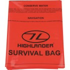 HIGHLANDER OUTDOOR EMERGENCY SURVIVAL BIVI BAG 120X210CM ORANGE