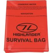 HIGHLANDER OUTDOOR EMERGENCY SURVIVAL BIVI BAG 120X210CM ORANGE