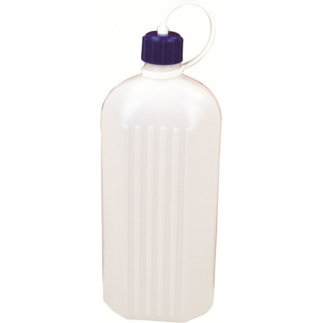 HIGHLANDER OUTDOOR POLY OCTAGONAL WATER BOTTLE 1 LITRE