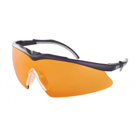 MSA SORDIN TECTOR BALLISTIC GLASSES ORANGE