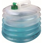 HIGHLANDER OUTDOOR ACCORDION WATER CARRIER 10 LITRES