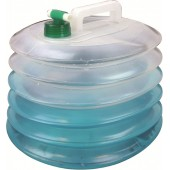 HIGHLANDER OUTDOOR ACCORDION WATER CARRIER 15 LITRES