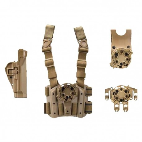 Blackhawk 4305USACT-L Military Serpa Holster Combo Kit for Beretta 92/96/M9/M9A1