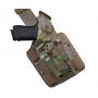 SAFARILAND 6004 Low Signature Glock 17/22 Cordura Multicam RH